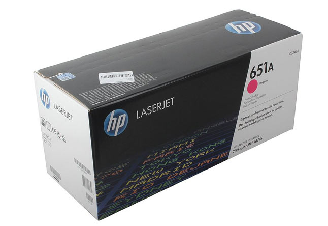 UNITСЕРВИС Kартридж 651A для HP LJ Enterprise 700 color MFP M775 (O) magenta, CE343A